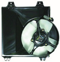 1995 - 2000 Chrysler Sebring Cooling Fan Assembly Replacement