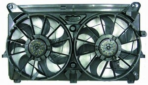 2005-2006 Chevrolet (Chevy) Tahoe Cooling Fan Assembly