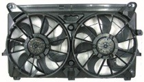 2005 - 2006 Chevrolet (Chevy) Tahoe Cooling Fan Assembly