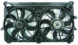 2007-2008 Chevrolet (Chevy) Silverado  Cooling Fan Assembly (6 Cylinder)