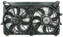 2007 - 2013 Chevrolet (Chevy) Silverado Cooling Fan Assembly (6 Cylinder) Replacement