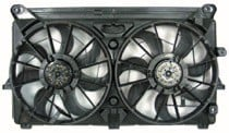 2007 - 2013 Chevrolet (Chevy) Silverado Cooling Fan Assembly (8 Cylinder / With Performance Package)