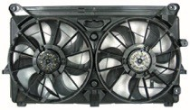 2007 - 2013 Chevrolet (Chevy) Silverado Cooling Fan Assembly (8 Cylinder + With Performance Package)