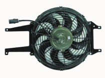 1999 - 2002 Chevrolet (Chevy) Tahoe Cooling Fan Assembly