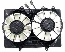 2001-2003 Isuzu Rodeo Cooling Fan Assembly