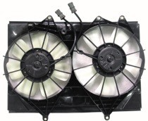 2001 - 2003 Isuzu Rodeo Cooling Fan Assembly