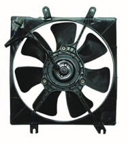 2000 - 2004 Kia Spectra Cooling Fan Assembly