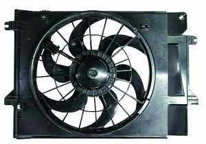 1999-2002 Mercury Villager Cooling Fan Assembly