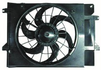 1999 - 2002 Mercury Villager Cooling Fan Assembly