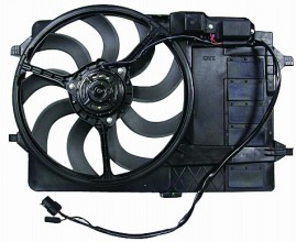 2002-2003 Mini Cooper Cooling Fan Assembly