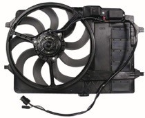 2002 - 2003 Mini Cooper Cooling Fan Assembly