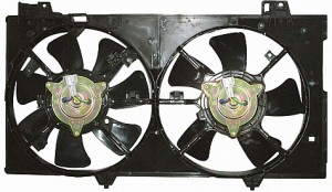 2003-2008 Mazda 6 Mazda6 Cooling Fan Assembly (2.3L / Without Turbo)