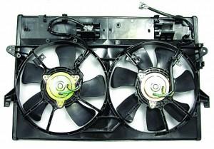 2000-2001 Mazda MPV Cooling Fan Assembly