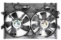 2000 - 2001 Mazda MPV Cooling Fan Assembly