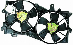 2002-2005 Mazda MPV Cooling Fan Assembly