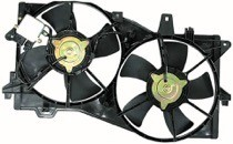 2002 - 2005 Mazda MPV Cooling Fan Assembly
