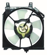 1991 - 1999 Nissan Sentra Condenser Cooling Fan Assembly