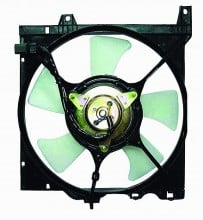 1991-1999 Nissan Sentra Radiator Cooling Fan Assembly