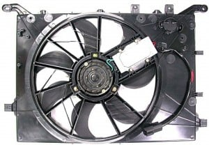 1999-2000 Volvo S80 Cooling Fan Assembly
