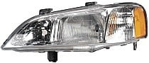1999 - 2001 Acura TL Front Headlight Assembly Replacement Housing / Lens / Cover - Left (Driver)