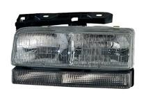 1994 - 1996 Buick Park Avenue + Ultra Front Headlight Assembly Replacement Housing / Lens / Cover - Left (Driver)