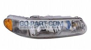 1997-2005 Buick Century Headlight Assembly - Right (Passenger)