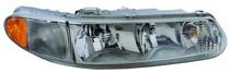 1997 - 2004 Buick Century Front Headlight Assembly Replacement Housing / Lens / Cover - Right (Passenger)