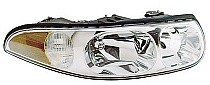 2000 - 2005 Buick LeSabre Headlight Assembly (with Corner & Marker Lamp + Limited + with Fluted High Beam Surface) - Right (Passenger)