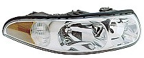 2000 Buick LeSabre Headlight Assembly (with Corner & Marker Lamp / Limited / with Smooth High Beam Surface) - Right (Passenger)