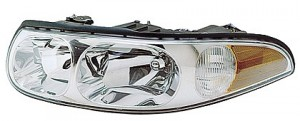 2000-2000 Buick LeSabre Headlight Assembly (with Corner & Marker Lamp / Limited / with Smooth High Beam Surface) - Left (Driver)