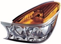 2002 - 2003 Buick Rendezvous Front Headlight Assembly Replacement Housing / Lens / Cover - Left (Driver)
