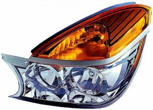 2002-2003 Buick Rendezvous Headlight Assembly - Left (Driver)