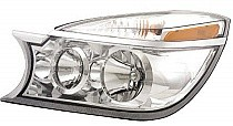 2004 - 2007 Buick Rendezvous Front Headlight Assembly Replacement Housing / Lens / Cover - Left (Driver)