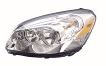 2006 2011 buick lucerne front headlight right passenger. Black Bedroom Furniture Sets. Home Design Ideas