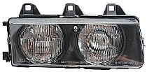 1992 - 1999 BMW 318i Front Headlight Assembly Replacement Housing / Lens / Cover - Left (Driver)