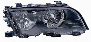 1999-2001 BMW 325i Headlight Assembly (with Halogen lamps / Sedan) - Right (Passenger)