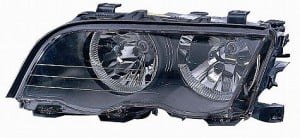 1999-2001 BMW 323i Headlight Assembly (with Halogen Lamps / Sedan) - Left (Driver)