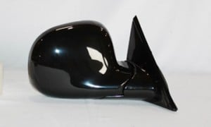 1994-1997 Chevrolet Chevy S10 Pickup Side View Mirror (Below Eyeline / Manual / Black) - Right (Passenger)