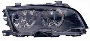 1999-2001 BMW 323i Headlight Assembly (Coupe/Convertible / with Halogen Lamps) - Right (Passenger)