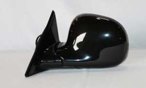 1994-1997 Chevrolet Chevy S10 Pickup Side View Mirror (Non-Heated / Power Remote / Black) - Left (Driver)