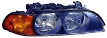 1998 - 2000 BMW 540i Front Headlight Assembly Replacement Housing / Lens / Cover - Right (Passenger)