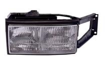 1994 - 1996 Cadillac Deville Front Headlight Assembly Replacement Housing / Lens / Cover - Right (Passenger)