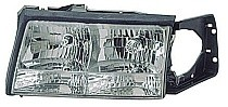 1997 - 1999 Cadillac Deville Front Headlight Assembly Replacement Housing / Lens / Cover - Left (Driver)