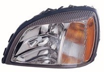 2000 - 2002 Cadillac Concours Headlight Assembly - Left (Driver)