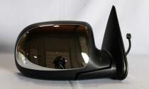 1999 - 2000 GMC Sierra Side View Mirror Replacement (Standard Style + Power Remote + Heated + Bright) - Right (Passenger)