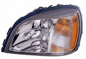 2004-2005 Cadillac Concours Headlight Assembly - Left (Driver)