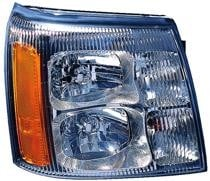 2002 Cadillac Escalade Front Headlight Assembly Replacement Housing / Lens / Cover - Right (Passenger)