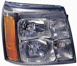 2002-2002 Cadillac Escalade Headlight Assembly - Right (Passenger)