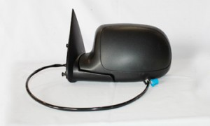 2003-2006 Chevrolet Chevy Avalanche Side View Mirror (without Body Cladding / Heated / Power Remote / without Dimmer) - Left (Driver)