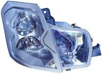 2003 - 2007 Cadillac CTS Front Headlight Assembly Replacement Housing / Lens / Cover - Right (Passenger)